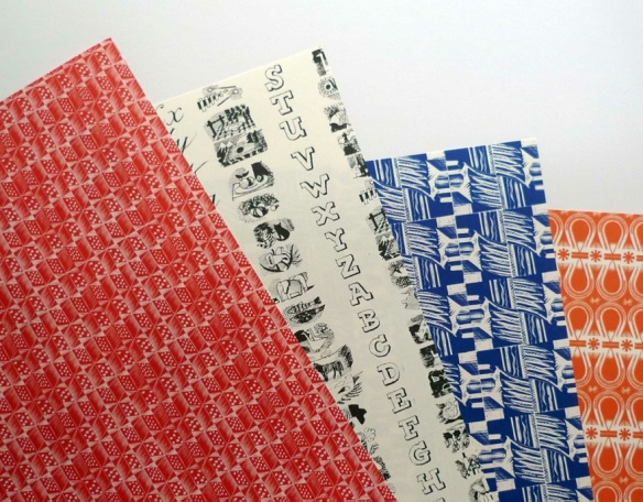 Judd Street Gallery papers samples
