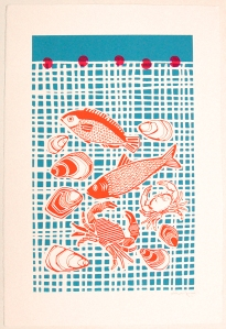 Zoe Murphy 'Catch of the day' print